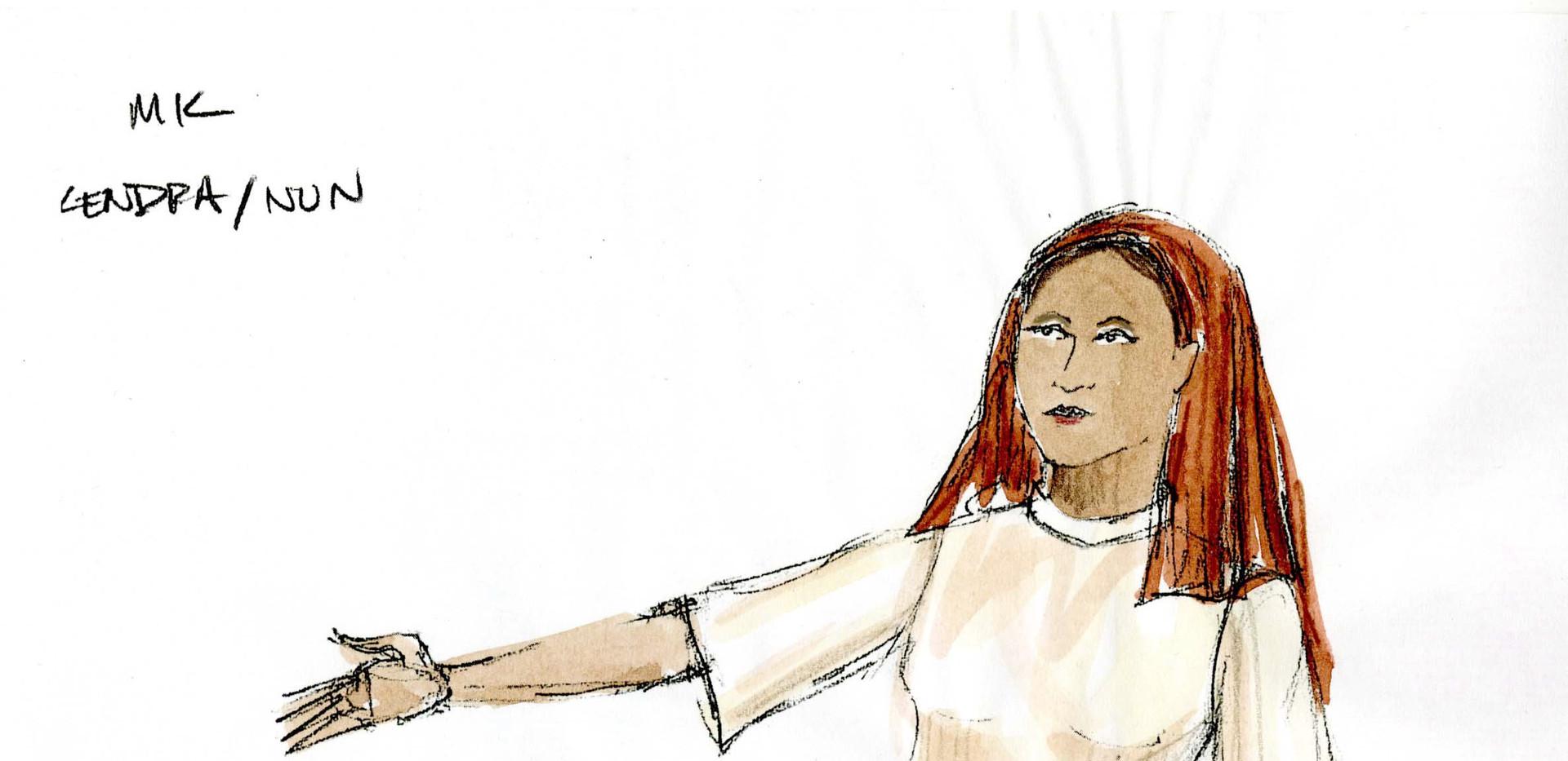 Maria Kizito Rendering