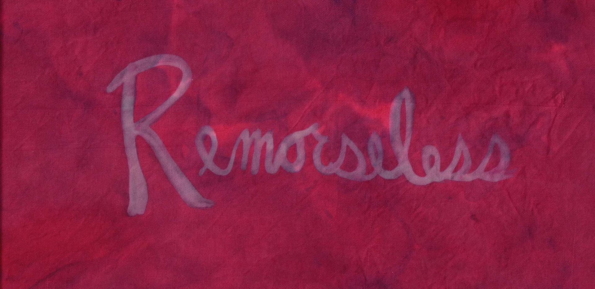 Textile Art 'Remorseless'