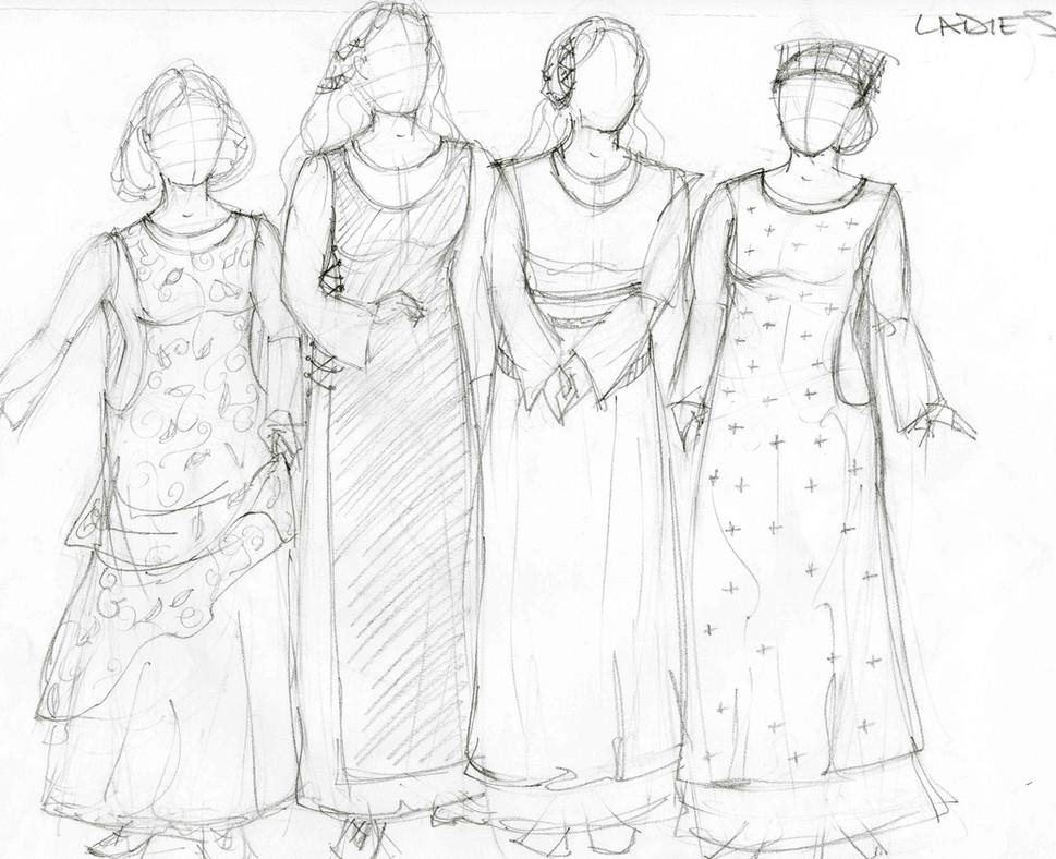 Camelot Rendering Ladies