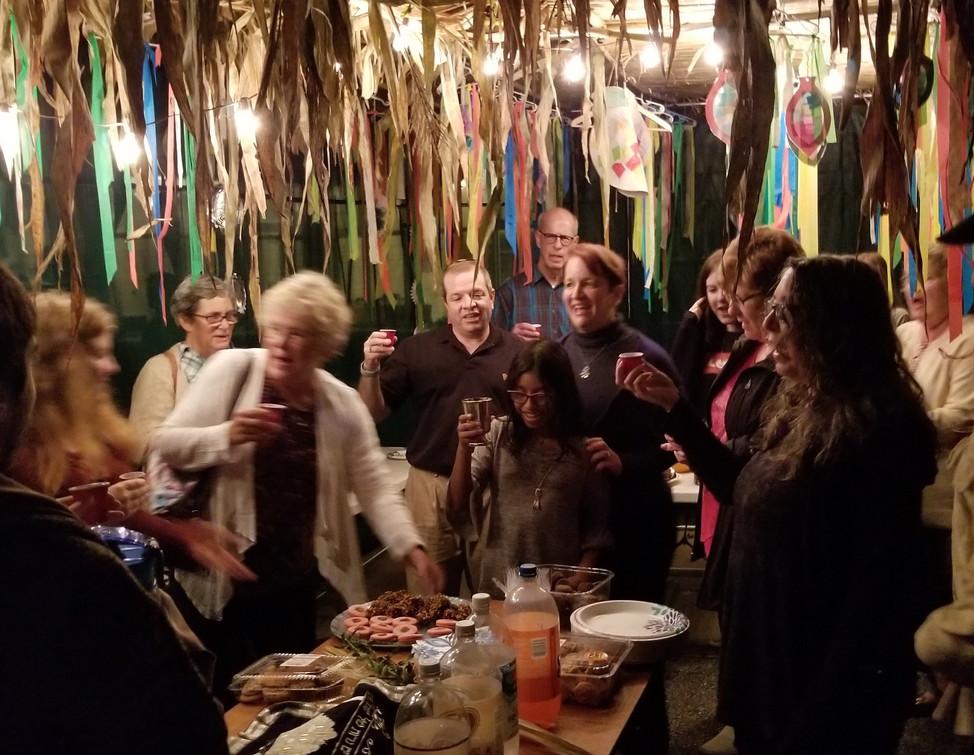 Sukkah Installation with Shabbat Dinner