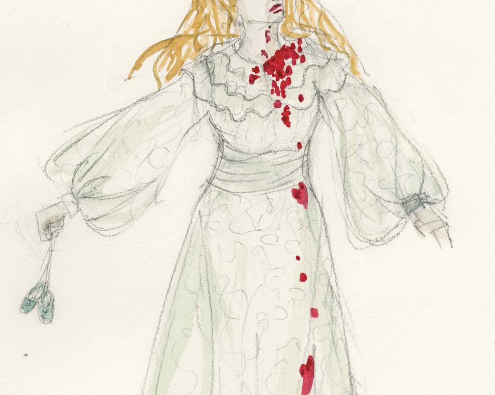 Dracula Rendering Lucy Vampire