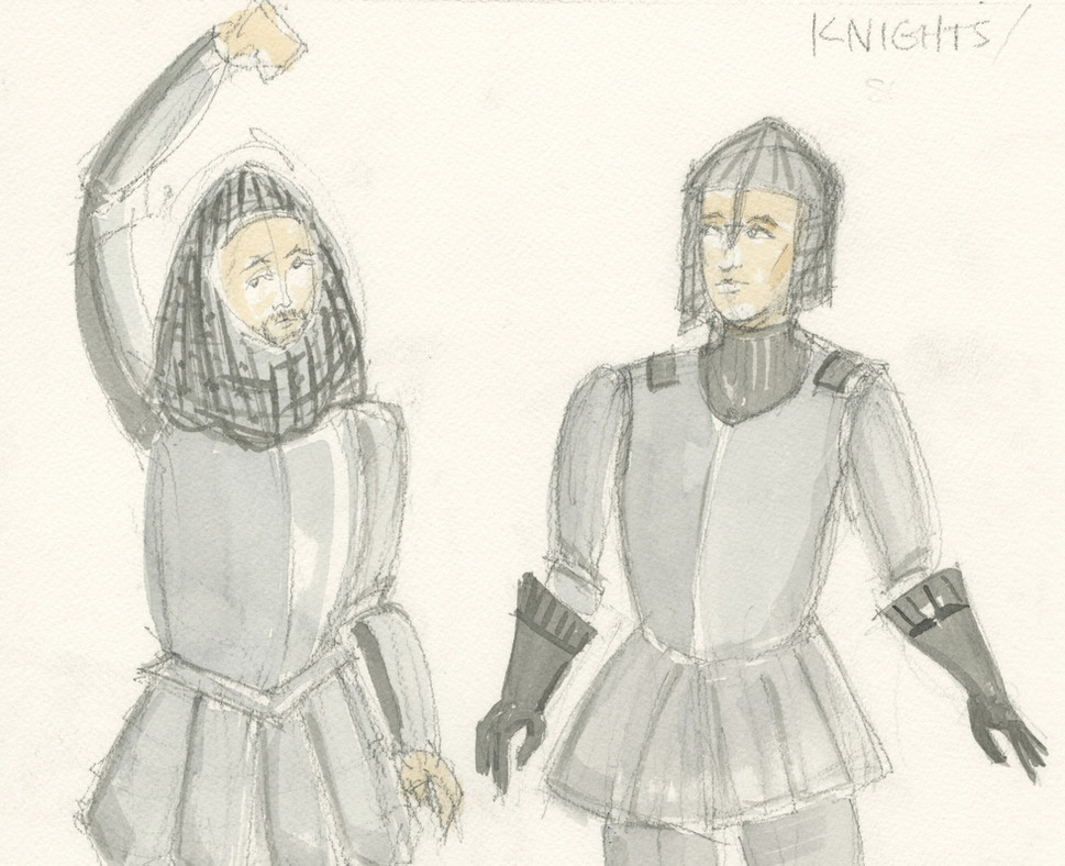 Camelot Rendering Knights
