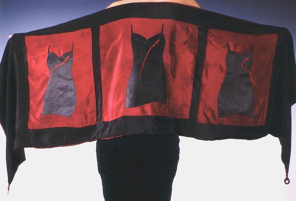 Textile Art 'Survival Techniques' Shawl