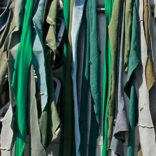 Installation Trailer Trash Textiles