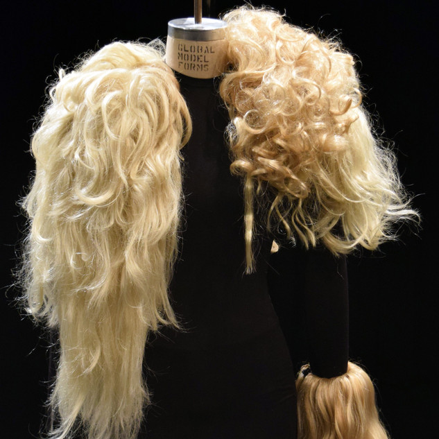 Sculptural Costume Wig Vest
