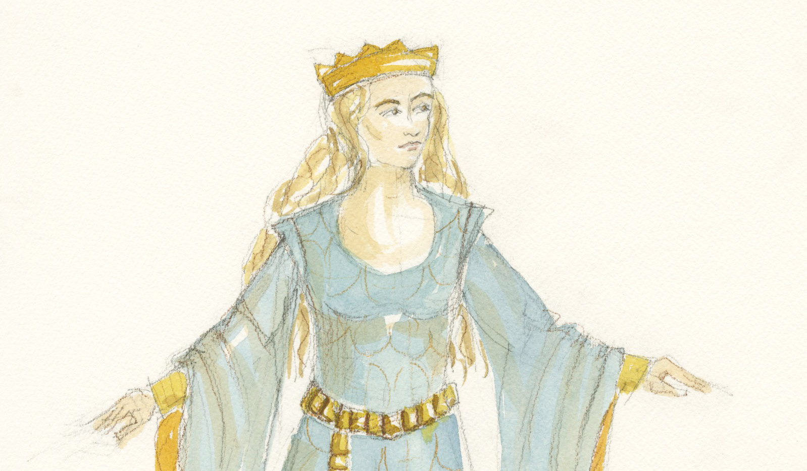Camelot Rendering Guinevere