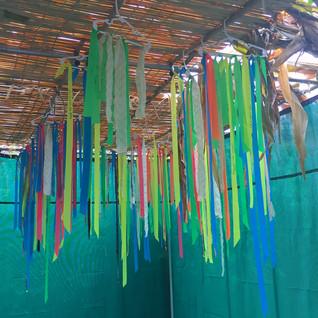 Installation Sukkah Textile Collaboration