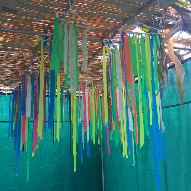 Installation Sukkah Textile Collaboration