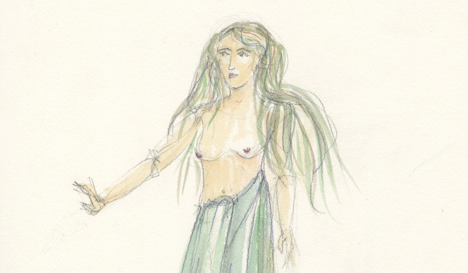 Camelot Rendering Nimue