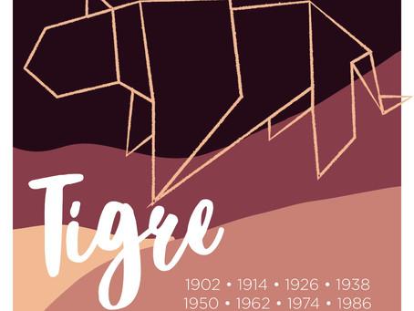 El signo Tigre en el horóscopo chino