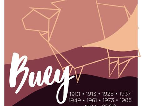 El signo Buey en el horóscopo chino