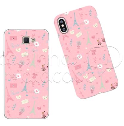 Capa Celular Personalizada Paris Pink Iphone