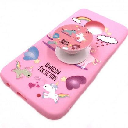 Capa Celular Popo Socket Unicornio Iphone