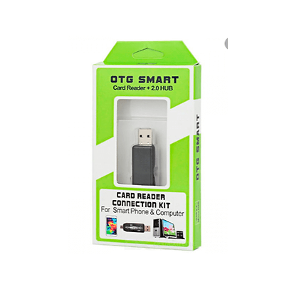 OTG Smart Card Reader USB 2.0 para telefone e computador