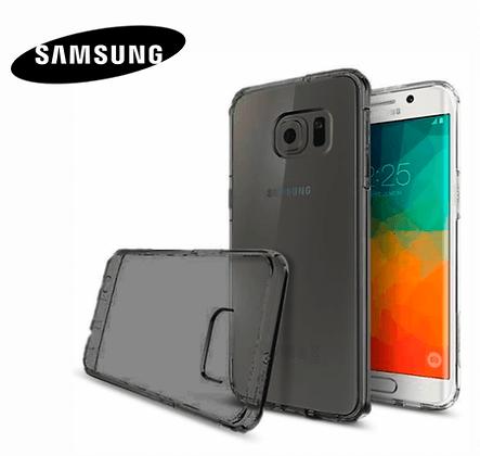 Capa Celula Silicone TPU Preta Samsung