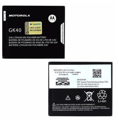 Bateria Moto E4 Motorola Original