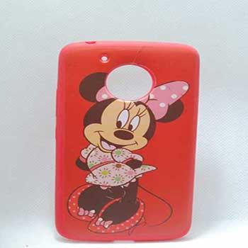 Capa Celular Moto E5 Play Minnie