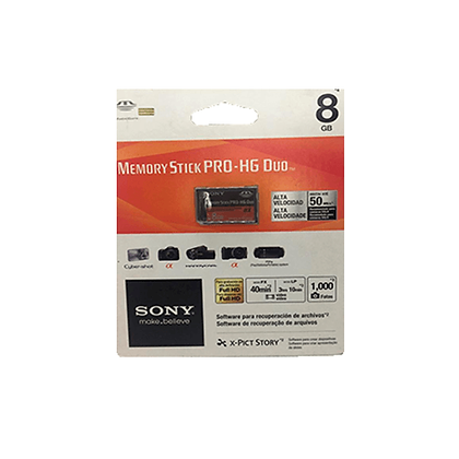 Cartão De Memória Sony Para  Câmera 8GB MS-HX8B/TQ2