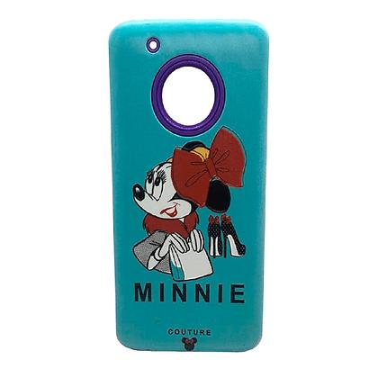 Capa Celular Anti Impacto Minnie Motorola