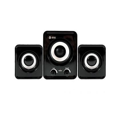 Caixa de Som 2.1 Com Satélite e Controle Bass INFOKIT - VC-G200