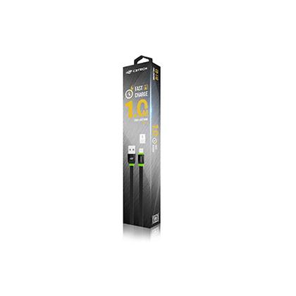 Cabo USB Iphone Lightning 1 Metro 2A CB-110BK C3tech