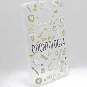 Capinha CelularMoto E5 Play Odontologia