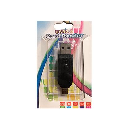 Adaptador USB Para V8 Card Reader 2.0