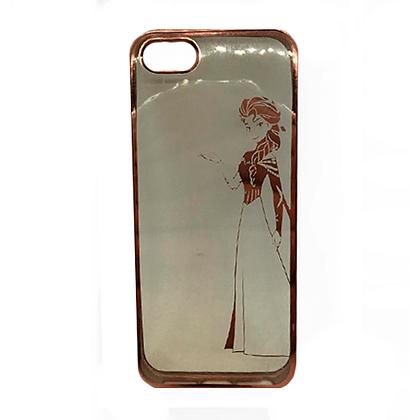 Capa Celular Transparente Elsa Iphone