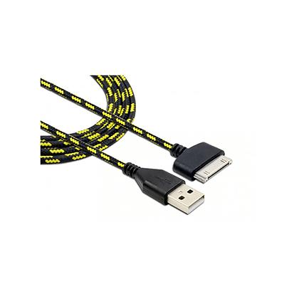 Cabo Para IOS USB 4S Trancado Reforcado Colorido 2 METROS - FHX-2M4G