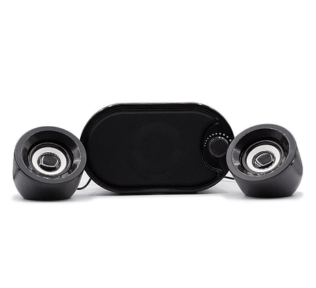 Caixa de Som Mini Subwoofer 2.1 Bluetooth - KP-6018BH Knup