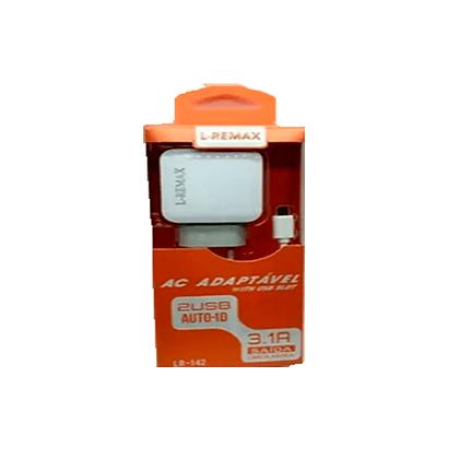 Carregador Celular L-Remax Iphone 3.1A LR-142
