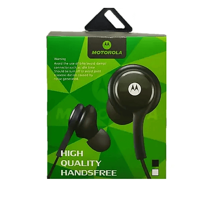 Fone de Ouvido Motorola Borracha Silicone Estéreo P2