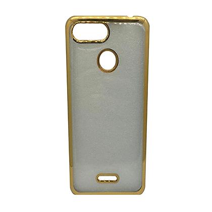 Capa Celular Transparente Borda Colorida Xiaomi