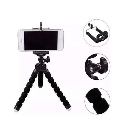 Mini Tripé Flexível Articulado Suporte Celular Selfie Renux RE-SPO-5129