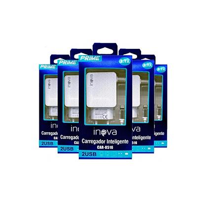Carregador Celular Inova Iphone 3.1A CAR-8516