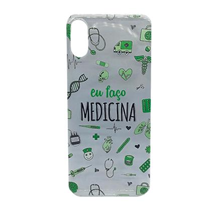 Capa Celular Eu Faço Medicina Iphone