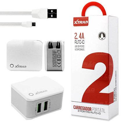 Carregador Celular Rápido Iphone Xtrad