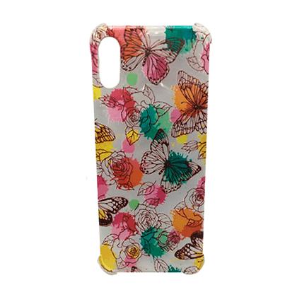 Capa Celular Flores Borboletas Quina Iphone