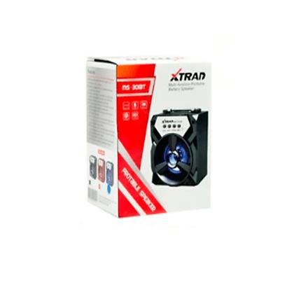 Caixa De Som Bluetooth 8W USB Com SD Card P2 FM Bivolt MS-301BT