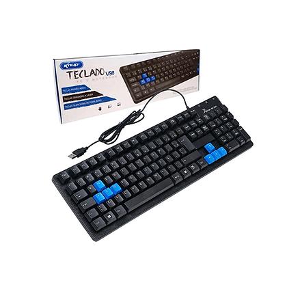 Teclado USB Kp-2044 Knup Com Fio PC Notebook