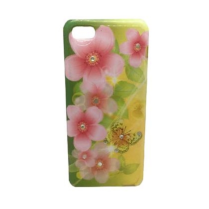 Capa Celular Flores Iphone