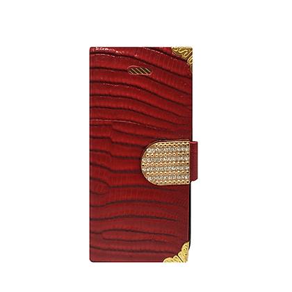 Capa Celular Carteira Strass Iphone