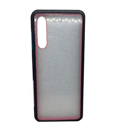 Capa Celular Acrílico Borda Colorida Xiaomi