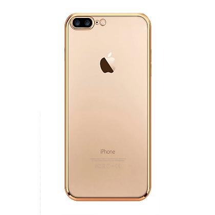 Capa Celular Transparente Bordas Coloridas Iphone