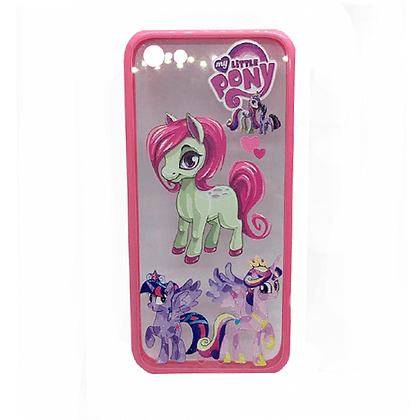 Capa Celular Transparente My Little Pony Iphone