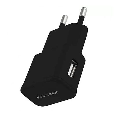 Carregador de Parede Multilaser, 1 Porta USB - CB104