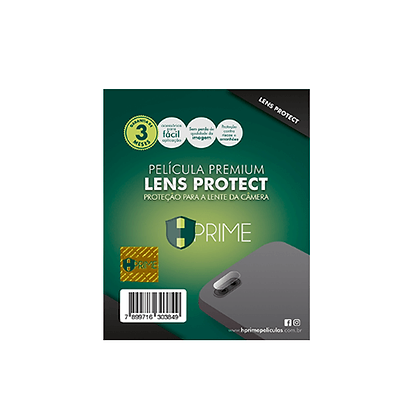 Película de Câmera Premium Lens Protect HPrime