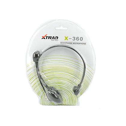 Fone De Ouvido Com Microfone Para Video Game x360- Xd563