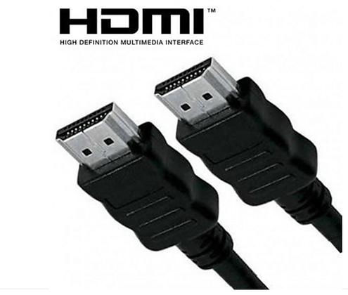 CABO HDMI X HDMI 1.80 MT 1080P HIGH DEFINITION PRETO