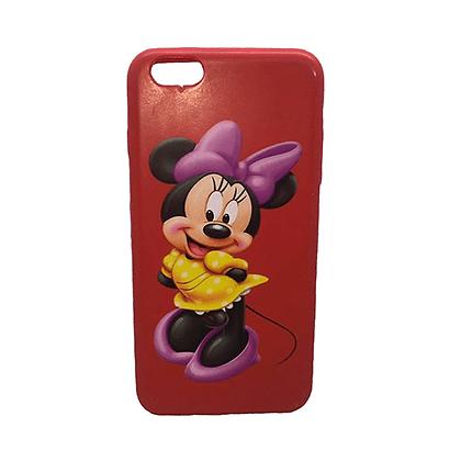 Capa Celular Emborrachada Minnie Iphone